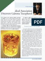 American Medical Association Discovers Gamma Tocopherol