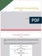 Aspecte Culturale in Marketing