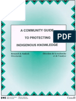 A Community Guide to Protecting Indigenous Knowledge