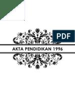 Label Pekeliling Akta Pendidikan 1996
