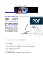 Real Sky Astrology - Business Services 2015