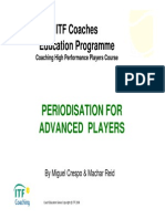 Periodisation for Advanced Players