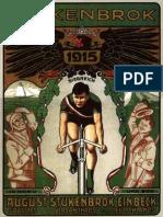 1915 August Stukenbrok Katalog Fahrraeder Und Zubehoer