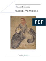 Baudelaire peintre de la vie moderne