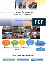 Safe School Campaign and Advocacy in Indonesia (Revised) - Jamjam Muzaki