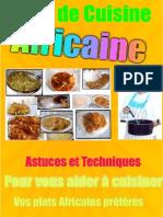 Cuisine Africaine recette