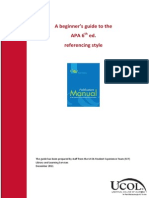 APA Beginners Guide 6th Edition