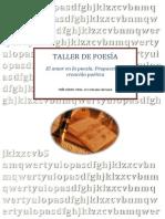 TALLER DE POESÍA MEDIO BERRETA, PERO INFO