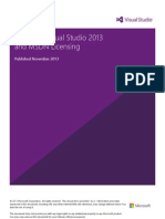 Visual Studio 2013 and MSDN Licensing Whitepaper - November-2013