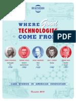Case Studies in American Innovation Report