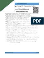 HVDC IMPortant questions