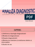 Analiza diagnosticului (2)