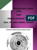 23927053 Jadual Spesifikasi Ujian JSU
