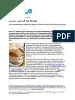 Greenapo.de empfiehlt Tee als natürliches Abwehrmittel gegen Erkältungen