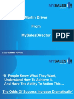 MartinDriver Sales Strategy