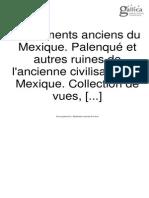 Monuments Anciens Du Mexique Et Du Yucatan