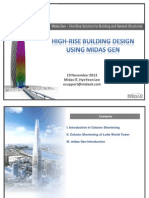 Highrise Building Design in Midas Gen_final