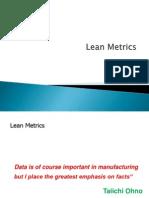 Lean Metrics