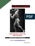 Massive Muscle Pumping