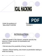 research paper on ethical hacking Computer hacking and ethics brian  members of serious research  beyond the scope of this paper but sharing is essential the ethical issues of a living.