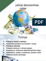 Tarptautiniai ekonominiai ryšiai