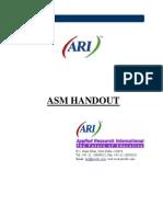 ARI ASM Handout