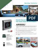 AR500U Brochure