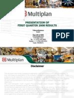 Multiplan Apres 1TQ8 20080611 Eng