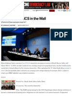 More Than Brics in the Wall
