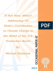 """If Not Now, When? Addressing Oil Shale's Contribution to Climate Change in the Midst of the U.S. Production Boom,"" by Michael Diamond"