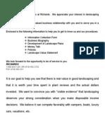 Landscape Packet Info`