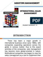 Final Ppt on Sales Mngmt