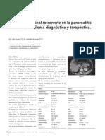 DolorAbdominal Recurrente en Pancreatitis Cronia