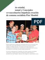 Noticias Comuna Flor Montiel