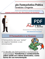Analise Admin Financ Result Farmácia