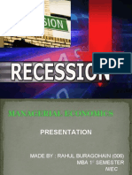 Recession 2008-09 by Rahul in