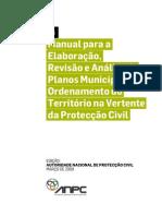 Manual proteção civil
