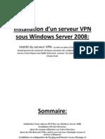 installation dun serveur vpn sous windows server 2008