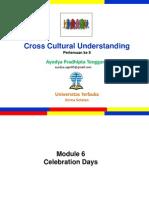 Cross Culture_Pertemuan 8_Modul 6_Mitha & Ayodya.pptx