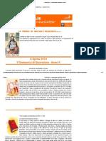 6 Aprile 2014 - V Domenica Di Quaresima - Anno A