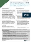 Private Tech Company M&a Report - CB Insights