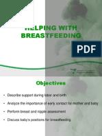 Helping With Breastfeeding 2009
