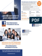 PRG 2014 Patent Administration Course Postcard