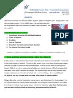 Omilo English Newsletter April 2014