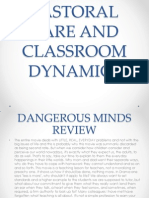 Pastoral Care and Classroom Dynamics