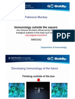 Fabienne Mackay Immunology Outside the Square: