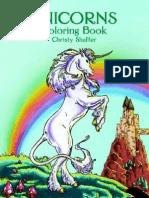 Unicorns - Coloring Book