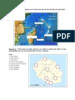 Connaissances génrérales Réunion - géo