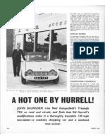SAH - Triumph TR4 - Sports Car - July 1962
