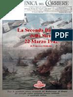 2014 MATTESINI La Seconda Battaglia della Sirte marzo 1942